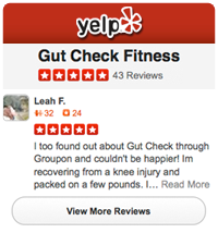 Review Gut Check Fitness on Yelp