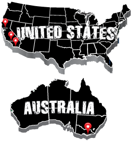Gut Check Fitness Worldwide Locations Map