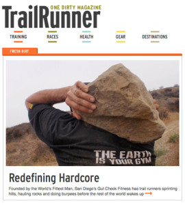 Gut Check Fitness Featured in TrailRunner Magazine -- Redefining Hardcore