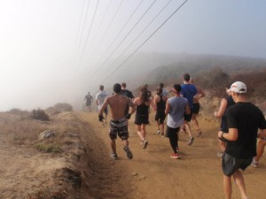 Gut Check Fitness trail workout