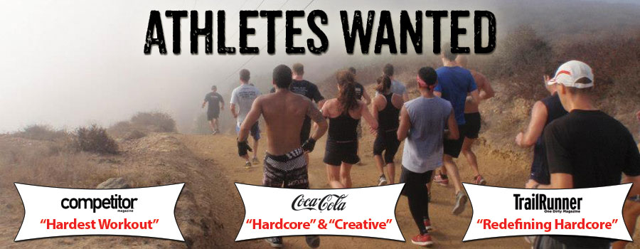 Gut Check Fitness Athletes Wanted Banner